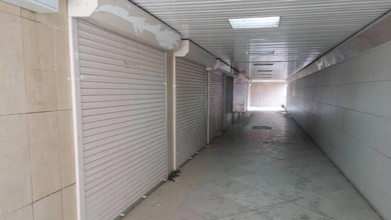 Торговые точки в подземном переходе возле Госрегистра закрыты из-за отсутствия покупателей