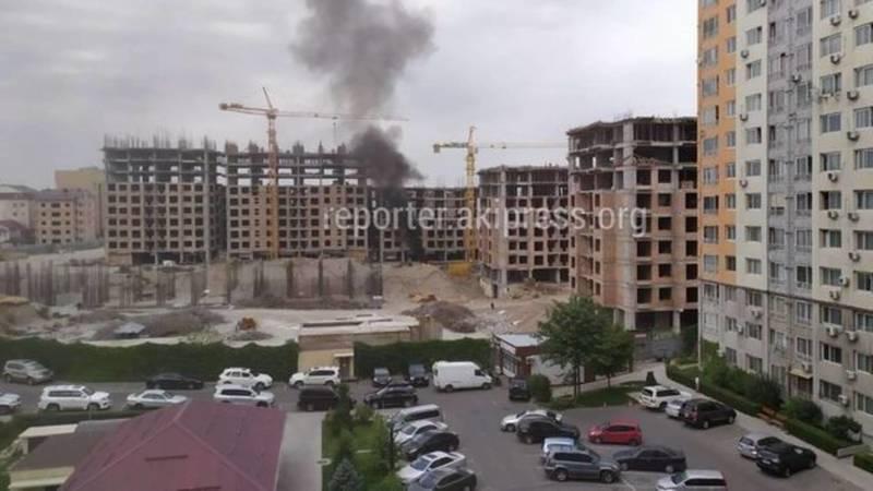 В отношении стройкомпании «Кыргыз Каганат» составлен протокол за сжигание мусора, - Госэкотехинспекция