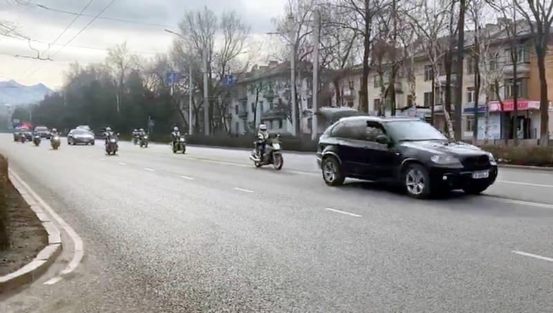 Репетиция инаугурации: Центральные улицы стоят без движения. Видео