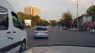 Выезд на перекресток на красный сигнал светофора