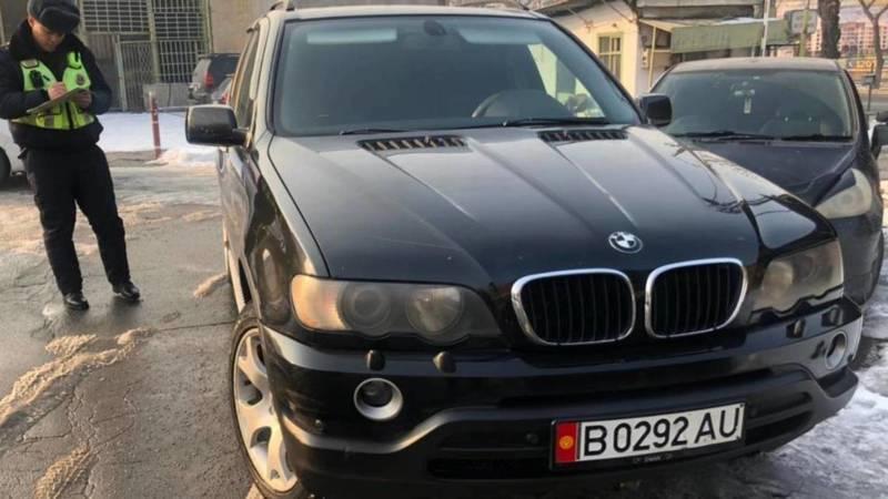 Водитель BMW Х5, выехавший на встречку, оштрафован на 6500 сомов