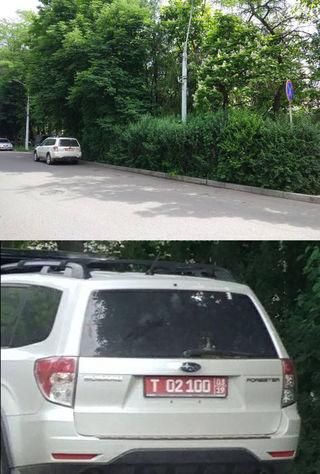 Парковка в зоне действия «Остановка запрещена»