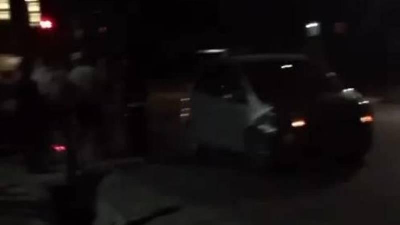 «Фит» попал в ДТП на Фрунзе. Видео