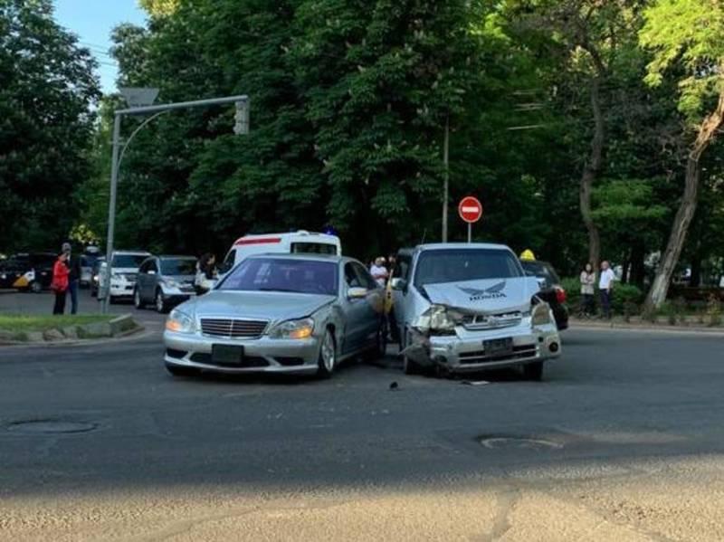 В Бишкеке произошло ДТП