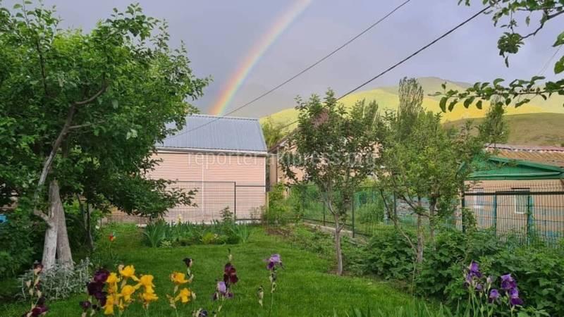 Красивую радугу после дождя сфотографировали в Кашка-Суу