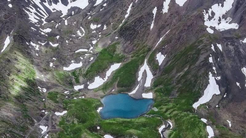 Красивые горы в объективе горожанина Николая Гладкова