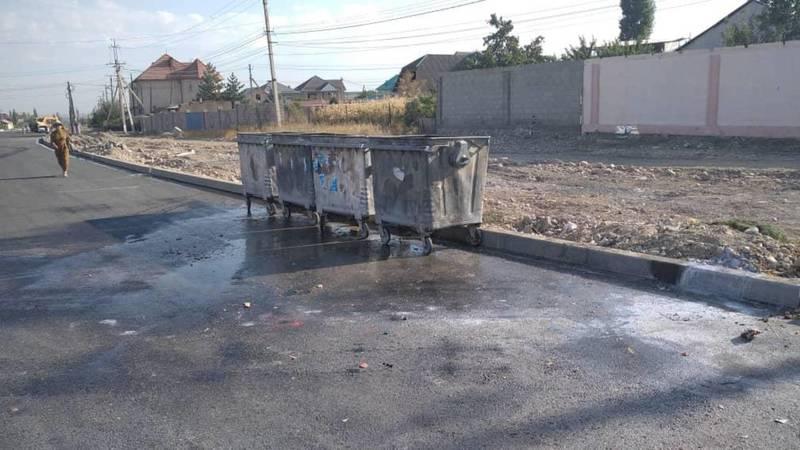 Из-за закрытой дороги спецтехника не могла проехать, - мэрия о мусоре в Арча-Бешике