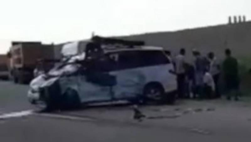 Жуткая авария на трассе Ош — Исфана унесла жизнь, – очевидец (видео, фото)