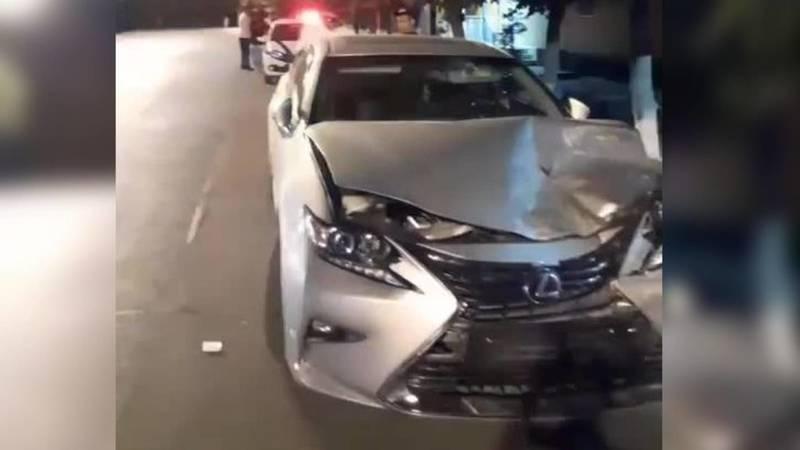 В Оше произошло ДТП с участием Lexus и Chrysler