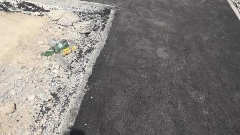 Почему в Ак-Орго на улице Ашар узкие тротуары? Фото