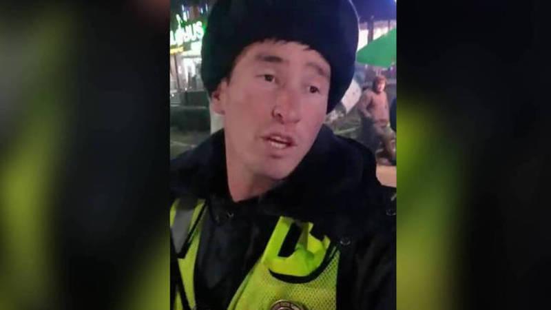 Назначена служебная проверка в отношении сотрудника патрульной службы милиции, который отказался регулировать пробку в центре города