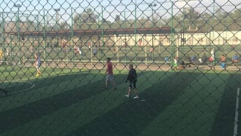 В отношении Федерации футбола составлен протокол за нарушения запрета штаба. Фото