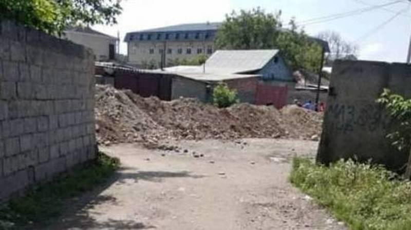 Горожане просят восстановить ул.Менделеева после дорожных работ. Фото