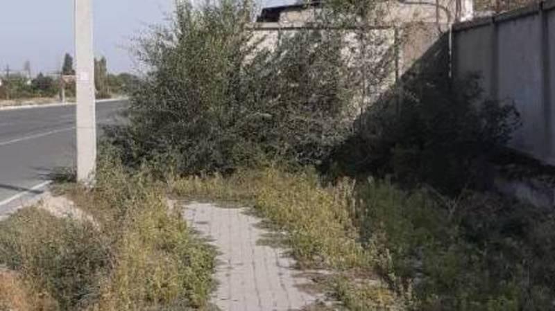 На ул.Путепроводной нет продолжения тротуара, - очевидец
