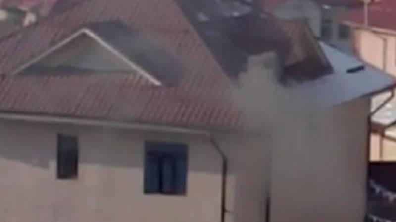 Дом на Бакаева загрязняет воздух, - горожанин