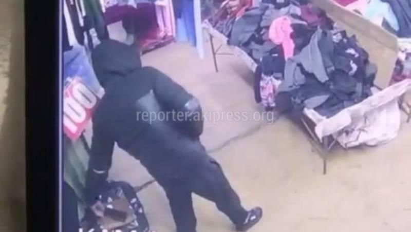 Момент кражи телефона попал на видео