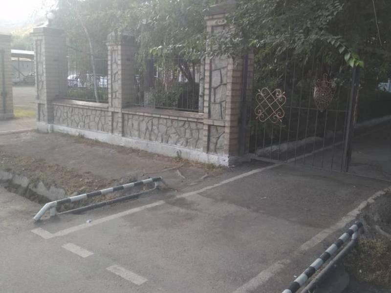 ГУОБДД рассмотрело жалобу жителя города Ош относительно мусора