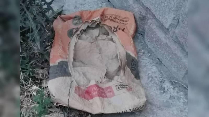 После установки газовых труб в селе Кок-Жар оставили мусор, - житель