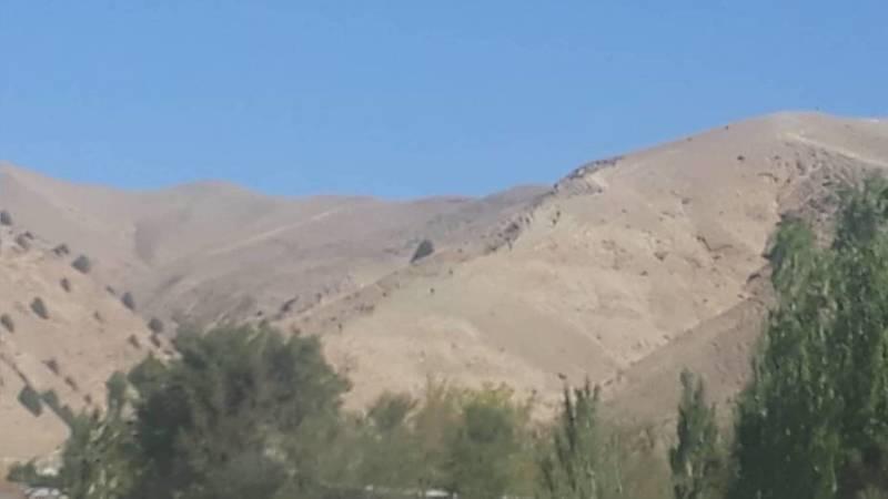 В Алайском районе группа людей в военной форме пошла в горы. Учения начались? - местный житель