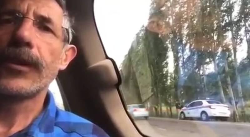 Турист из Франции жалуется на сотрудников УОБДД (видео)