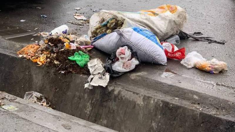 В центре Жалал-Абада уже неделю не убирают мусор, - горожанин