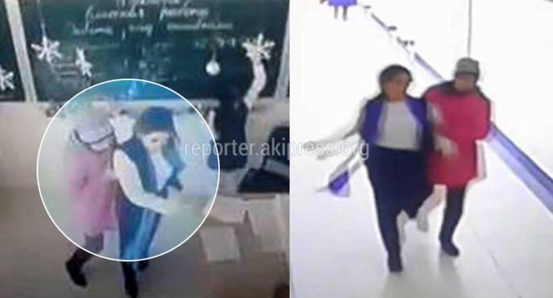 В школе №95 мама ученицы силой вывела учительницу из кабинета и повела к директору. Видео