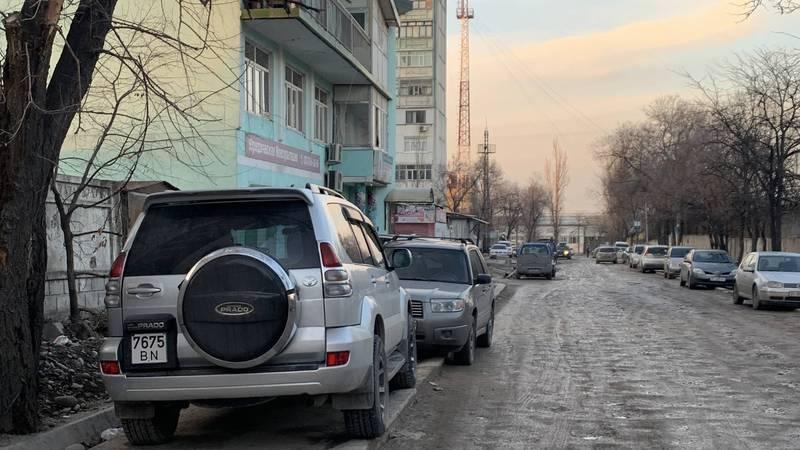 Житель жалуется на состояние дороги на Горького-Белорусской