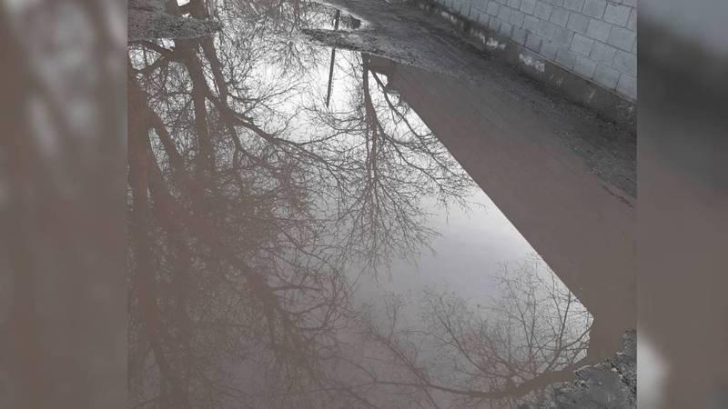 Улица Нарвская в Бишкеке находится в ужасном состоянии. Фото
