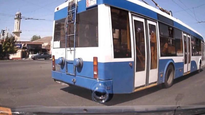 Водитель троллейбуса №8 ПДД на проспекте Жибек Жолу не нарушал, - мэрия
