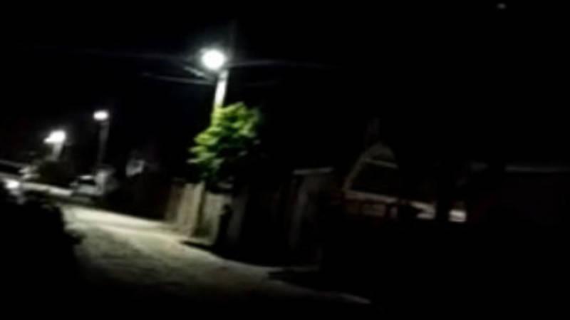 В жилмассиве Рухий-Мурас на одной из улиц нет освещения, - местный житель