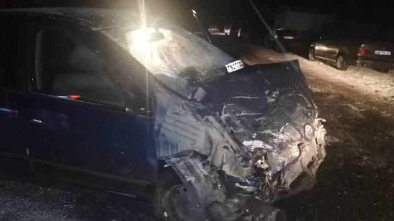 Страшное ДТП на окраине Бишкека. Водитель «Одиссея» скончался на месте