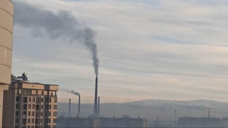 Вот так ТЭЦ отапливает Бишкек. Видео очевидца
