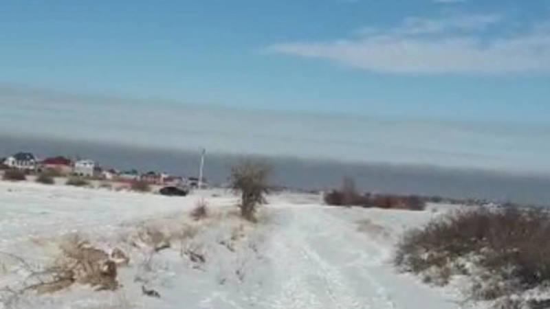 Смог над Бишкеком. Видео