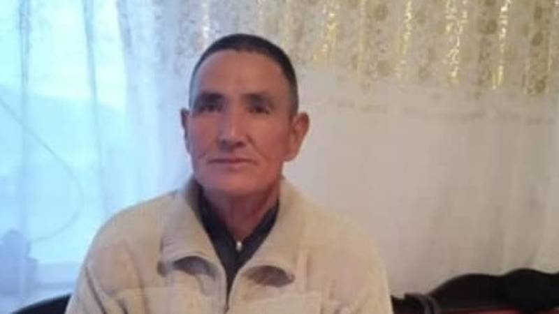 В Бишкеке пропал 59-летний Осмонкул Мамбетов. Фото, видео
