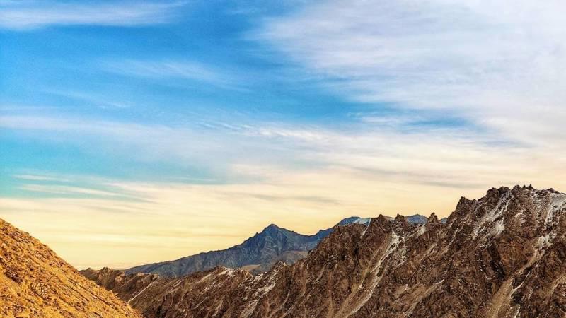 Невероятно красивые горы на пике Адыгене в объективе горожанина
