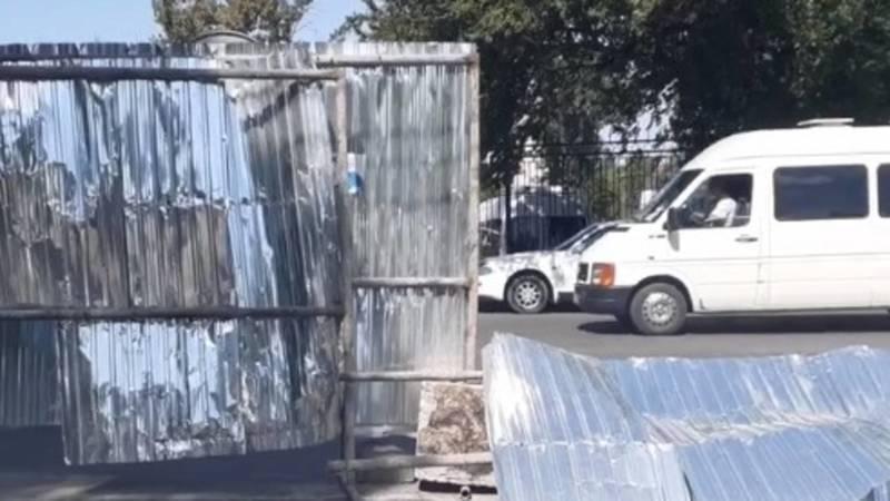 Почему ремонт ул.Койбагарова остановился? Видео горожанки