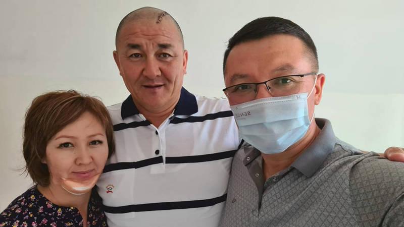 Как выглядит вице-мэр Бишкека, попавший в ДТП вместе с певицей С.Каримовой? Фото