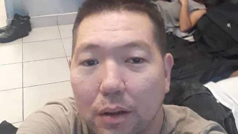 Кыргызстанец застрял в аэропорту Москвы. Видео и фото