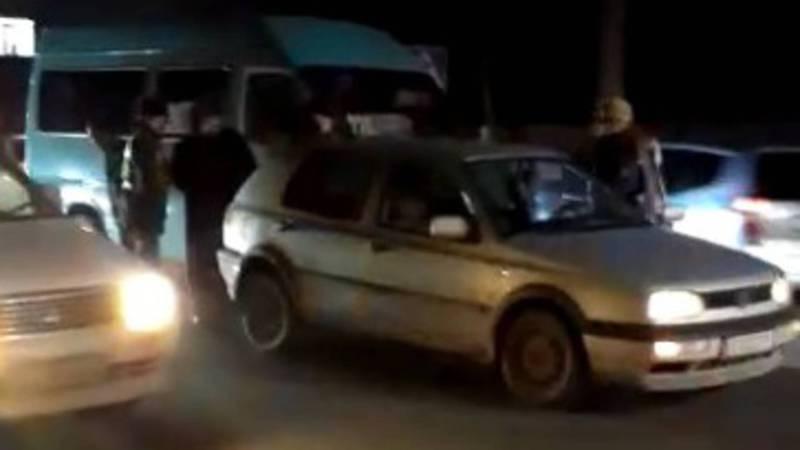 На ул.Элебесова произошло ДТП с участием маршрутки №224. Видео