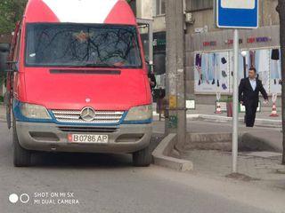 Парковка на остановке на ул.Киевской