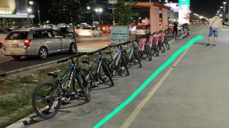 На Южной магистрали работает прокат велосипедов, несмотря на запрет, - горожанин. Фото