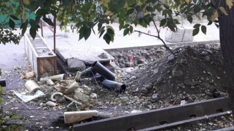 Ремонт теплосетей на ул.Матросова будет завершен до 30 июля