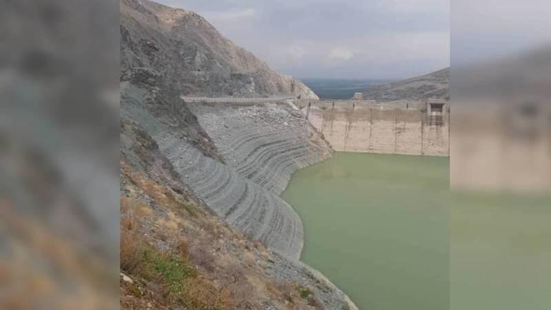 В Кировском водохранилище мало воды, - местный житель