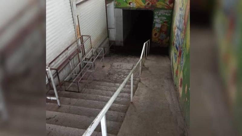 В подземном переходе возле Восточного автовокзала навели порядок