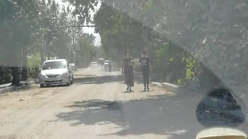 600 метров дороги по ул.Ибраимова не могут отремонтировать уже третий месяц, - очевидец