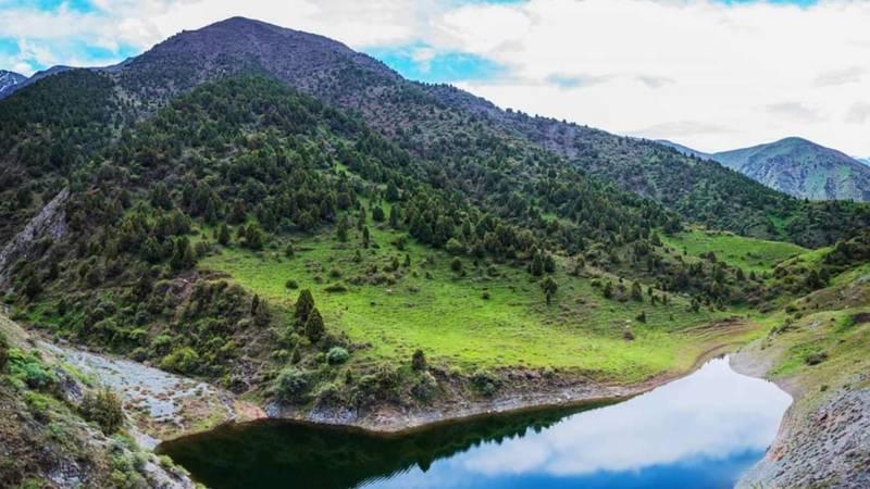 Озеро Борулу в объективе фотографа Данилы
