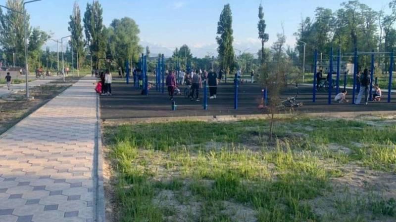 Горожанин жалуется на отсутствие скамеек в новом парке