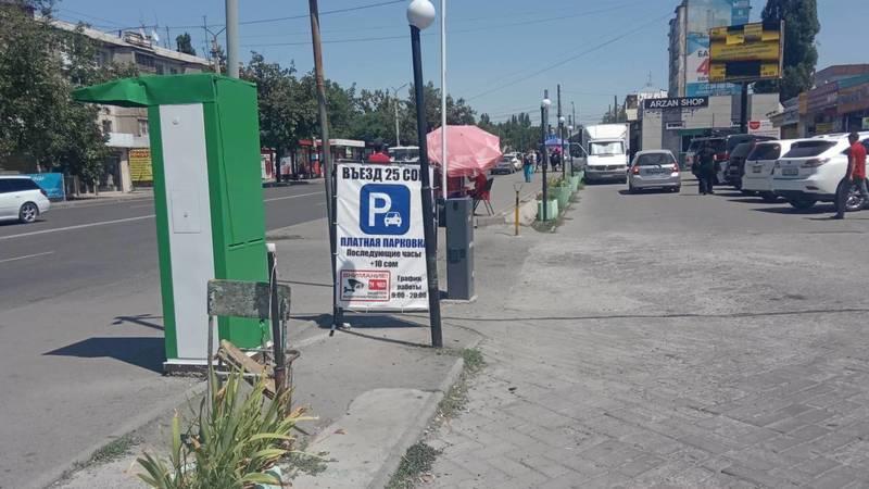 К кому относится парковка с северной стороны Орто-Сайского рынка? - бишкекчанин
