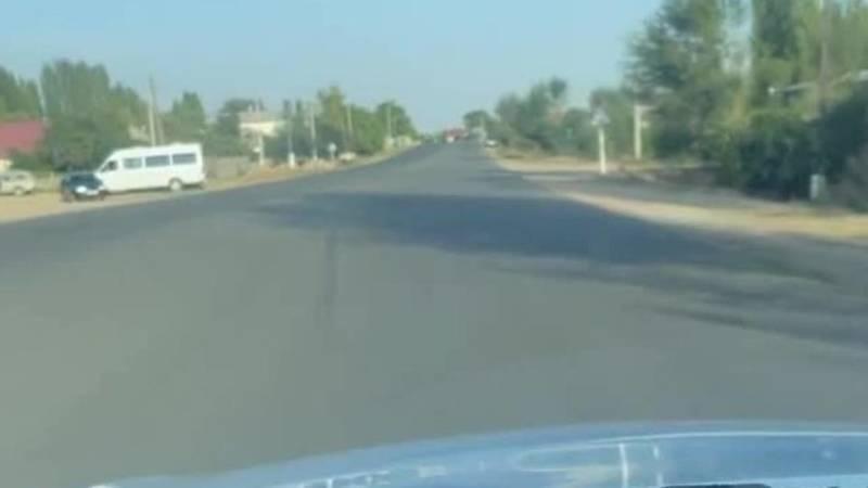 В селе Корумду на дороге вообще нет дорожных разметок, - очевидец (видео, фото)