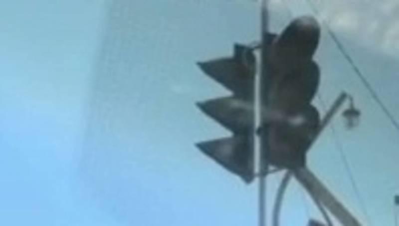 В Таласа на одном из перекрестков на светофоре горит только зеленый свет, - горожанин